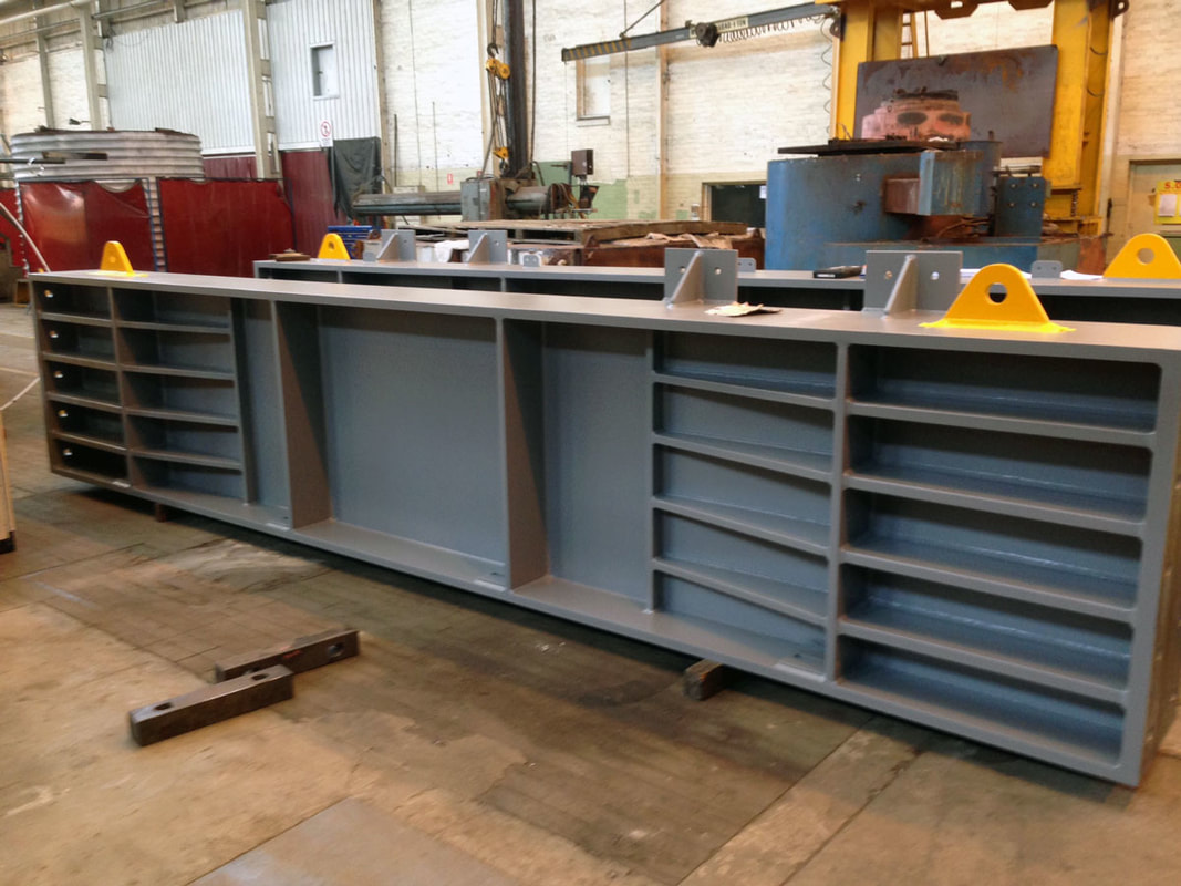 Steel Stress Bed Beams
